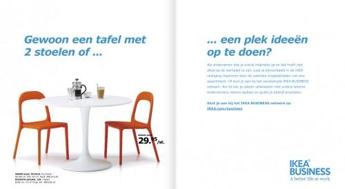 IKEA heeft ook een 'idee'.